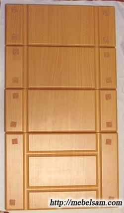 Фасады мебельные - Изготовление простой кухни