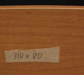 Деталь кухни - дсп ламинированное - маркировка