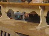 Садовая деревянная лавочка. Изготовление