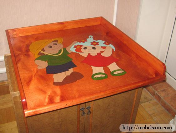 Детский пеленальный стол.