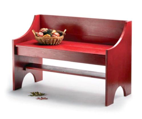 Изготовление простой деревянной скамейки своими руками