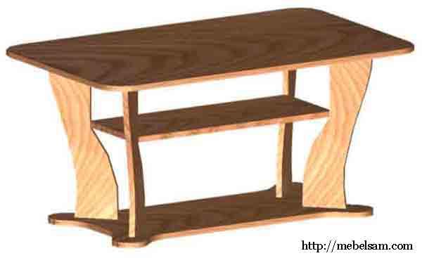 Тема: Изготовление мебели своими руками (стол журнальный) .